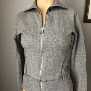 Blumarine jeans grey  sweatshirt,sz.42, excellent